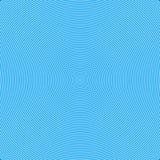 Fondo blu delle linee e delle onde Immagine Stock