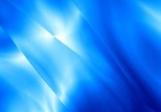 Fondo blu di colore di forma leggera astratta Immagini Stock Libere da Diritti