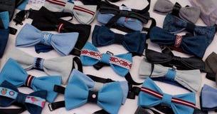 Fondo blu di colore di molti farfallini Fotografia Stock Libera da Diritti