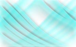 Fondo blu di concetto dell'onda illustrazione di stock