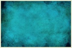 Fondo blu di degrado urbano Fotografie Stock