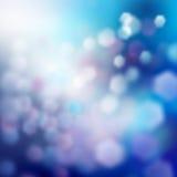 Fondo blu di inverno fotografie stock libere da diritti