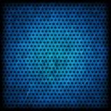 Fondo blu di lerciume del modello del cerchio fotografia stock