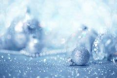 Fondo blu di Natale