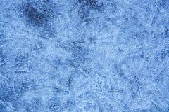 Fondo blu di struttura del ghiaccio con Crystal Surface immagine stock libera da diritti