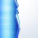 Fondo blu di struttura del metallo Immagini Stock Libere da Diritti