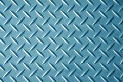 Fondo blu di struttura del metallo Fotografia Stock Libera da Diritti