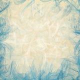 Fondo blu e beige della mussola Immagine Stock Libera da Diritti