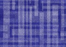Fondo blu e bianco astratto con progettazione di forma di rettangolo Immagine Stock