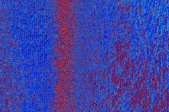 Fondo blu e rosso del mosaico Immagine Stock