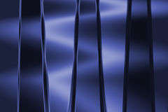 Fondo blu metallico Immagini Stock