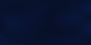 Fondo blu scuro astratto con struttura blu-chiaro del modello di semitono Modello creativo di progettazione della copertura illustrazione di stock