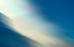 Fondo blu scuro dell'estratto della sfuocatura di pendenza di spettro Immagine Stock Libera da Diritti