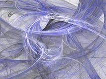 Fondo blu sporco di lerciume astratto sul contesto bianco Fotografia Stock Libera da Diritti