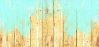 Fondo blu Vertic differente dell'estratto di vecchio stile del bordo di legno Immagine Stock