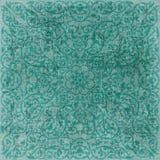 Fondo bohemio floral del libro de recuerdos de la tapicería de Grunge de la vendimia Fotos de archivo libres de regalías