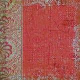 Fondo bohemio gitano floral del estilo Fotos de archivo