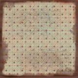 Fondo bohemio suave del libro de recuerdos de la tapicería de Grunge Imagenes de archivo