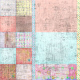 Fondo bohemio tropical con playas del libro de recuerdos de la tapicería Foto de archivo libre de regalías