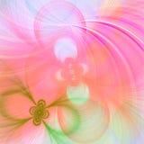 Fondo bonito del fractal Foto de archivo libre de regalías