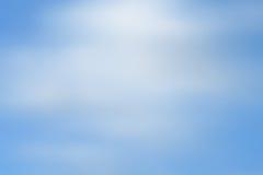 Fondo borroso abstracto del azul de cielo Foto de archivo