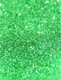 Fondo borroso de la chispa verde del brillo fotos de archivo libres de regalías