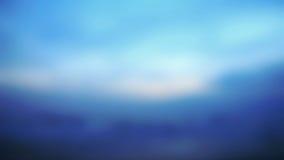 Fondo borroso de la salida del sol, luz de la madrugada, los fenómenos de la iluminación natural Foto de archivo