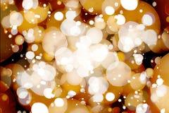 Fondo borroso de las luces Imagen de archivo