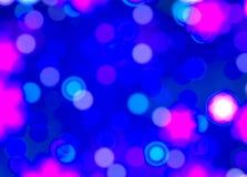 Fondo borroso de las luces de la Navidad. Imágenes de archivo libres de regalías