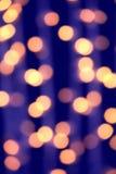 Fondo borroso de las luces en ciudad de la noche Foto de archivo libre de regalías