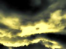 Fondo borroso del cielo Fotografía de archivo libre de regalías