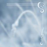 Fondo borroso del invierno del vector Fotografía de archivo libre de regalías