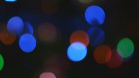 Fondo borroso extracto 2 de la Navidad metrajes