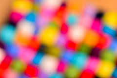 Fondo borroso extracto de las lanas del color Fotos de archivo libres de regalías