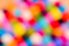 Fondo borroso extracto de las lanas del color Fotografía de archivo libre de regalías