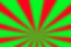 Fondo borroso extracto rojo verde para la Navidad Fotografía de archivo