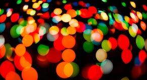 Fondo borroso luz del bokeh del color, unfocused Fotografía de archivo