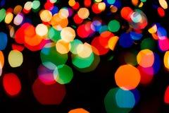 Fondo borroso luz del bokeh del color, unfocused Foto de archivo