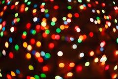 Fondo borroso luz del bokeh del color, unfocused Fotos de archivo