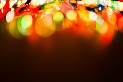 Fondo borroso luz del bokeh del color, unfocused Imágenes de archivo libres de regalías