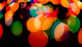 Fondo borroso luz del bokeh del color, unfocused Foto de archivo libre de regalías