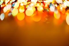 Fondo borroso luz del bokeh del color, unfocused Imagen de archivo libre de regalías