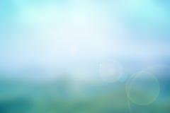 Fondo borroso naturaleza azul abstracta Imagen de archivo libre de regalías
