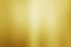 Fondo borroso oro de la textura Imagen de archivo libre de regalías