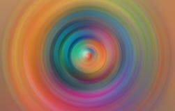 Fondo borroso parte radial abstracta colorida del movimiento Foto de archivo