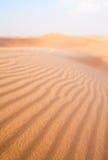 Fondo borroso textura de la duna de arena Foto de archivo libre de regalías