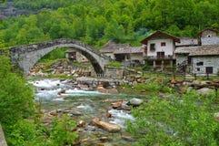 Fondo-Brücke Lizenzfreies Stockbild