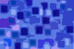 Fondo brillante abstracto azul blanco Foto de archivo libre de regalías