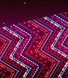 Fondo brillante abstracto con el ornamento del zigzag. Imagenes de archivo
