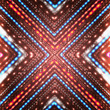 Fondo brillante abstracto con las flechas. Foto de archivo libre de regalías